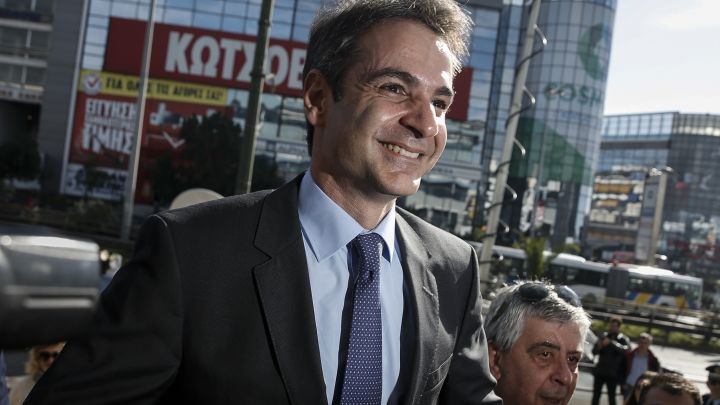 With elections ahead, Greece's opposition is promising lower taxes and 'aggressive' growth