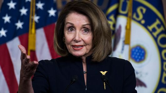 Nancy Pelosi warns GOP that a Democratic president could declare gun violence a national emergency
