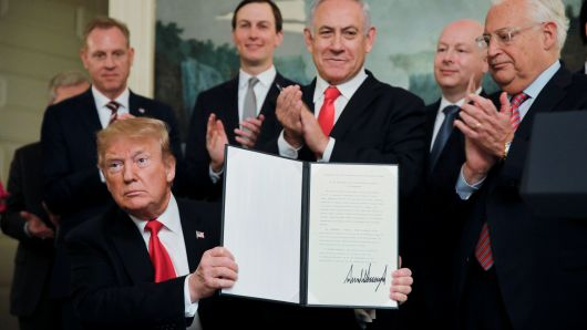 Trump officially recognized Israel's annexation of the occupied Golan Heights. Here's what it means