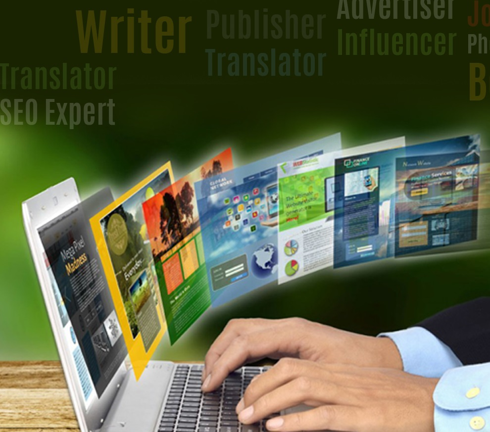 The online publishers & the Digital marketing service,  meaning, objective and benefits.