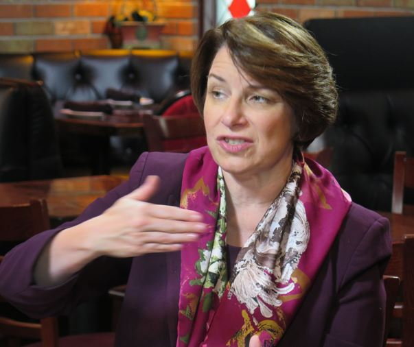2020 Democrat Amy Klobuchar: The American economy needs 'rebalancing'