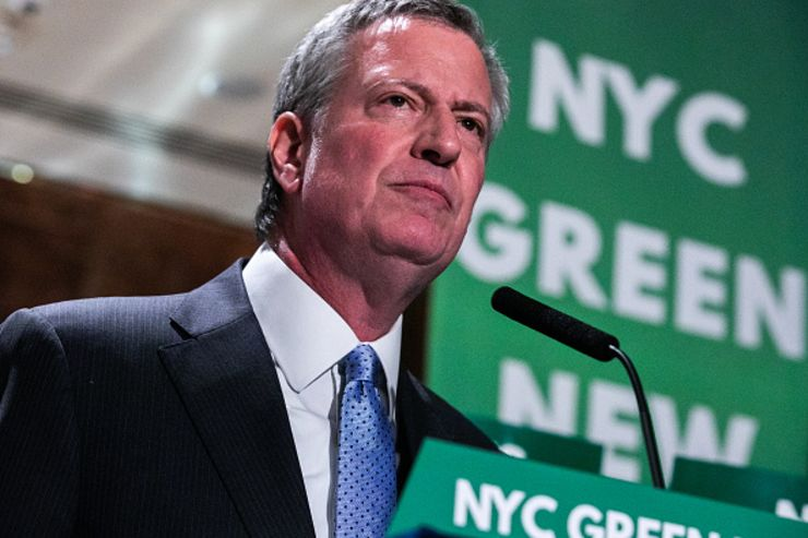 New York Mayor Bill de Blasio enters the 2020 presidential race: 'Donald Trump must be stopped'