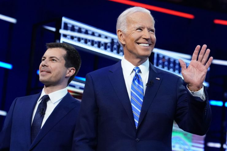 Biden, Harris and Buttigieg rack up donations from big bank executives on Wall Street