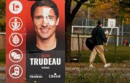 Canada's Trudeau fights for survival in tight election race