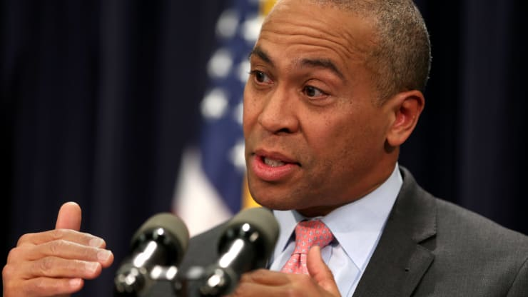 Former Massachusetts Gov. Deval Patrick enters the 2020 Democratic primary race